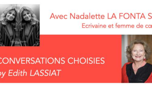 REBONDIR, RENAÎTRE, UNE CONVERSATION PLUS QUE CHOISIE AVEC EDITH LASSIAT