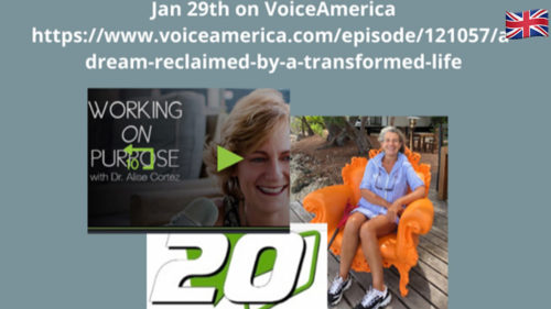 WORKING ON PURPOSE WITH ALISE CORTEZ - VOICEAMERICA