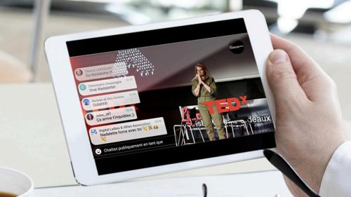 COMMUNIQUÉ : TEDX « JE NE VEUX PAS CREVER »